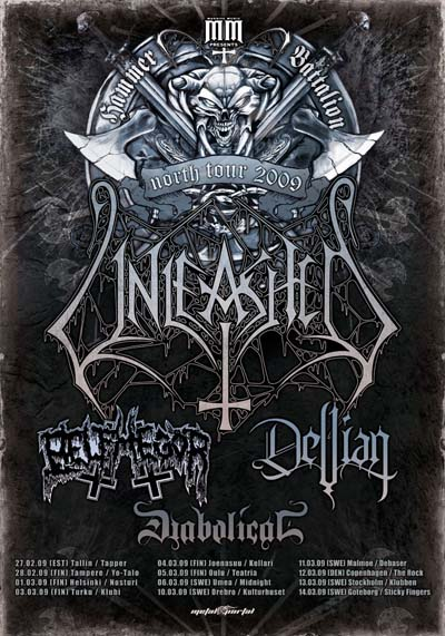 Unleashed North Tour Poster